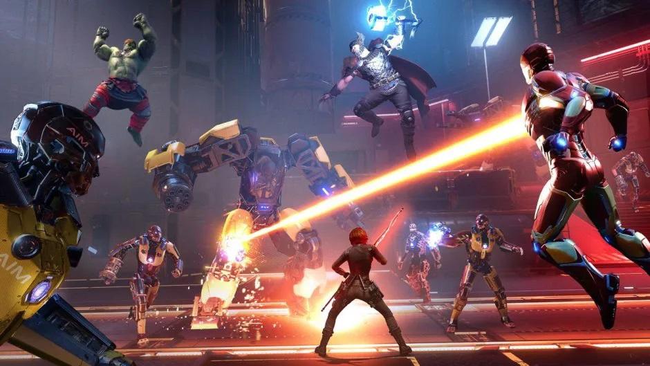 nuevo trailer CGI Marvel's Avengers