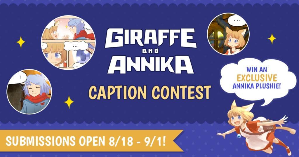 giraffe and annika caption contest min