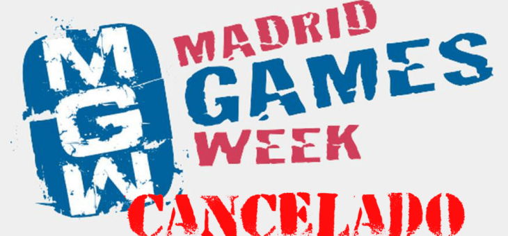 Madrid Games Week 2020 se cancela