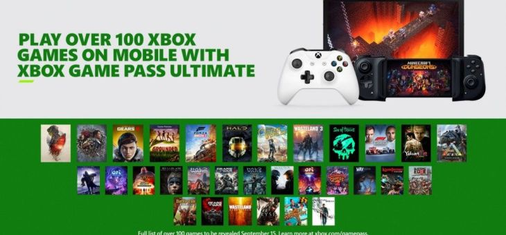 Novedades Xbox Game Pass Ultimate: lanzamiento del juego en la nube, catálogo y accesorios para móviles.