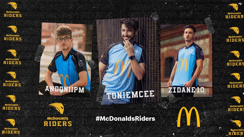 McDonald's Riders