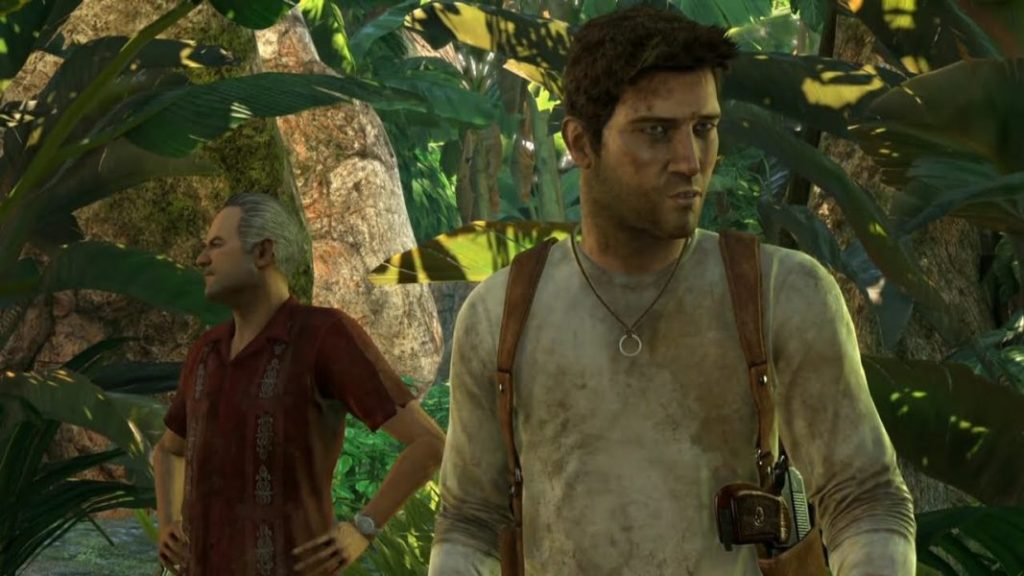 Uncharted 1 Drakes Fortune gameplay screenshot