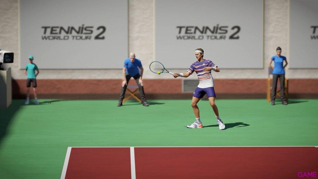 Tennis World Tour 2 para ps4