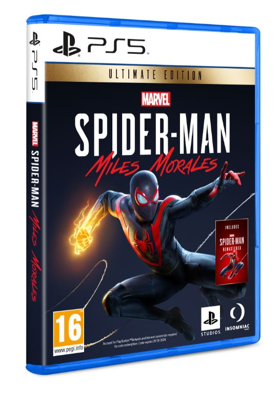 PS SPIDER MAN MILES MORALES