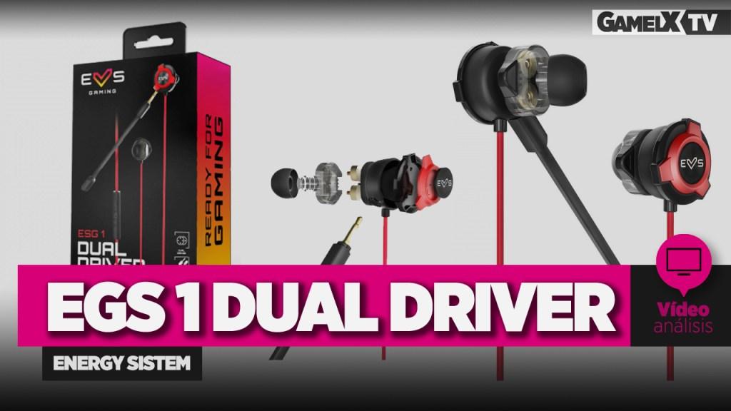 análisis de los auriculares gaming egs 1 dual driver