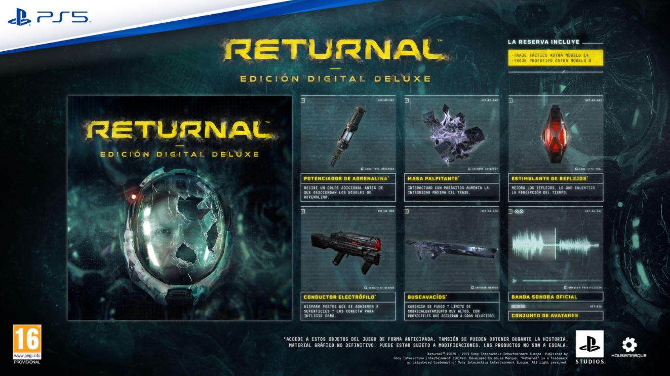 Returnal será exclusivo para PS5