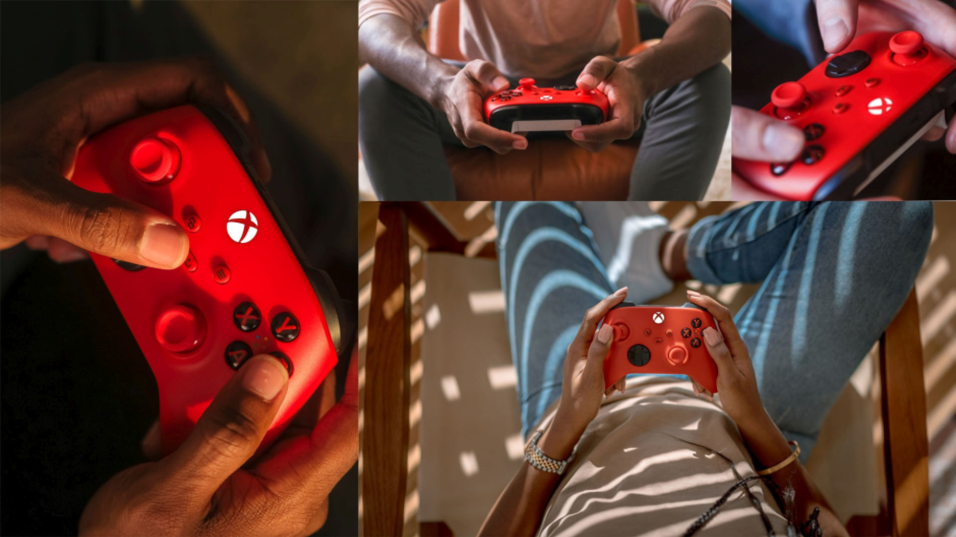 Xbox Wireless Controller Pulse Red 1