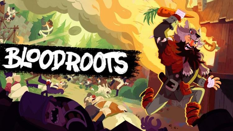 Portada del juego Bloodroots