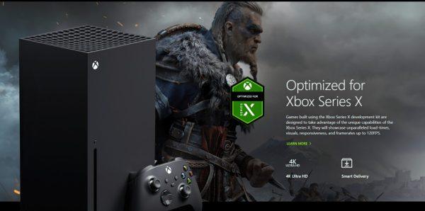 Assassinu2019s Creed Valhalla y Xbox Series X