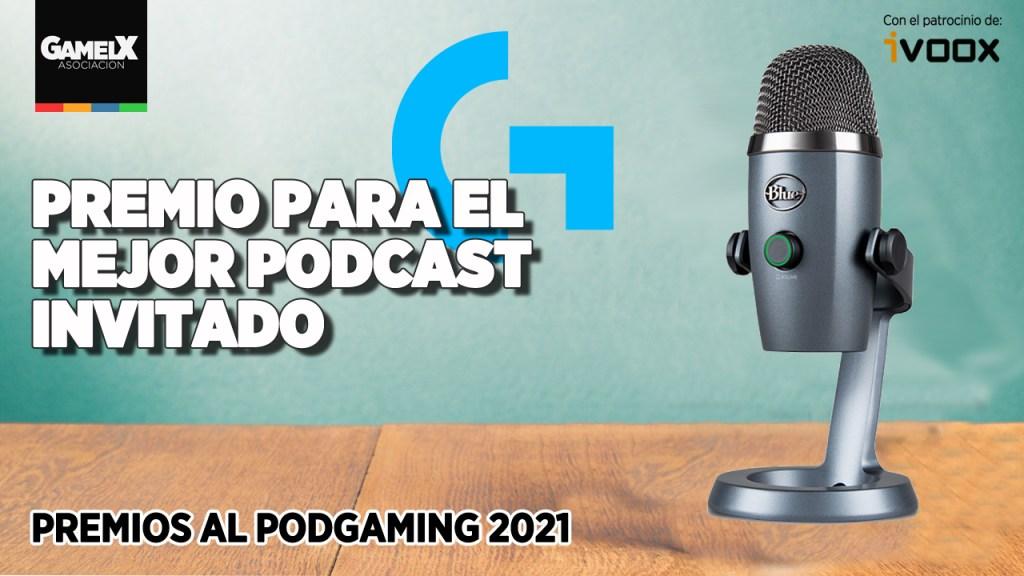 Logitech apoya la categoría de Mejor Podcast Invitado