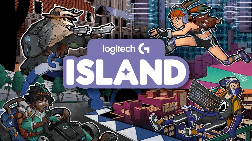 logitech g island