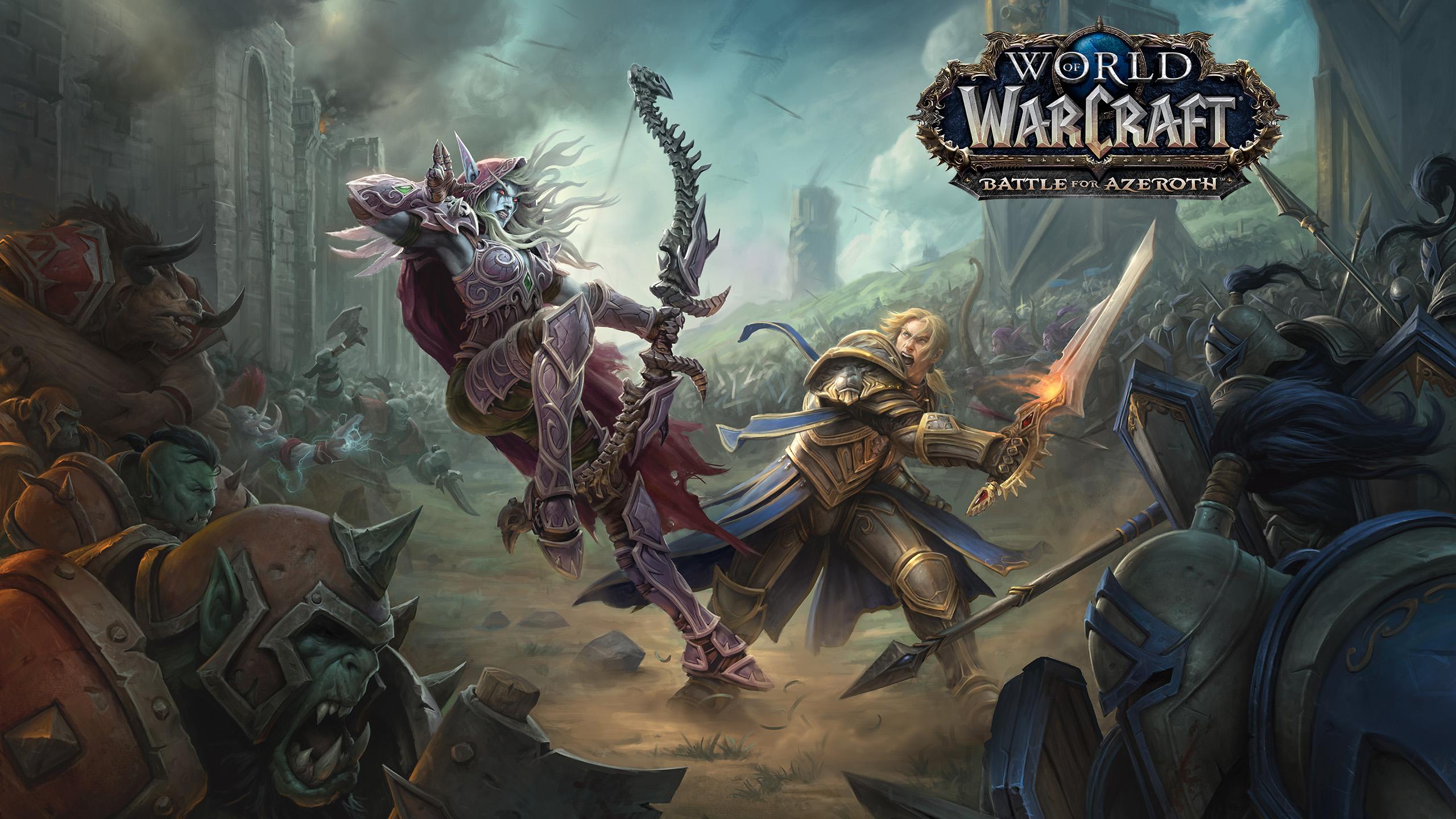 """Прилив начался: вышло обновление """"Волны возмездия"""" для World of Warcraft"""