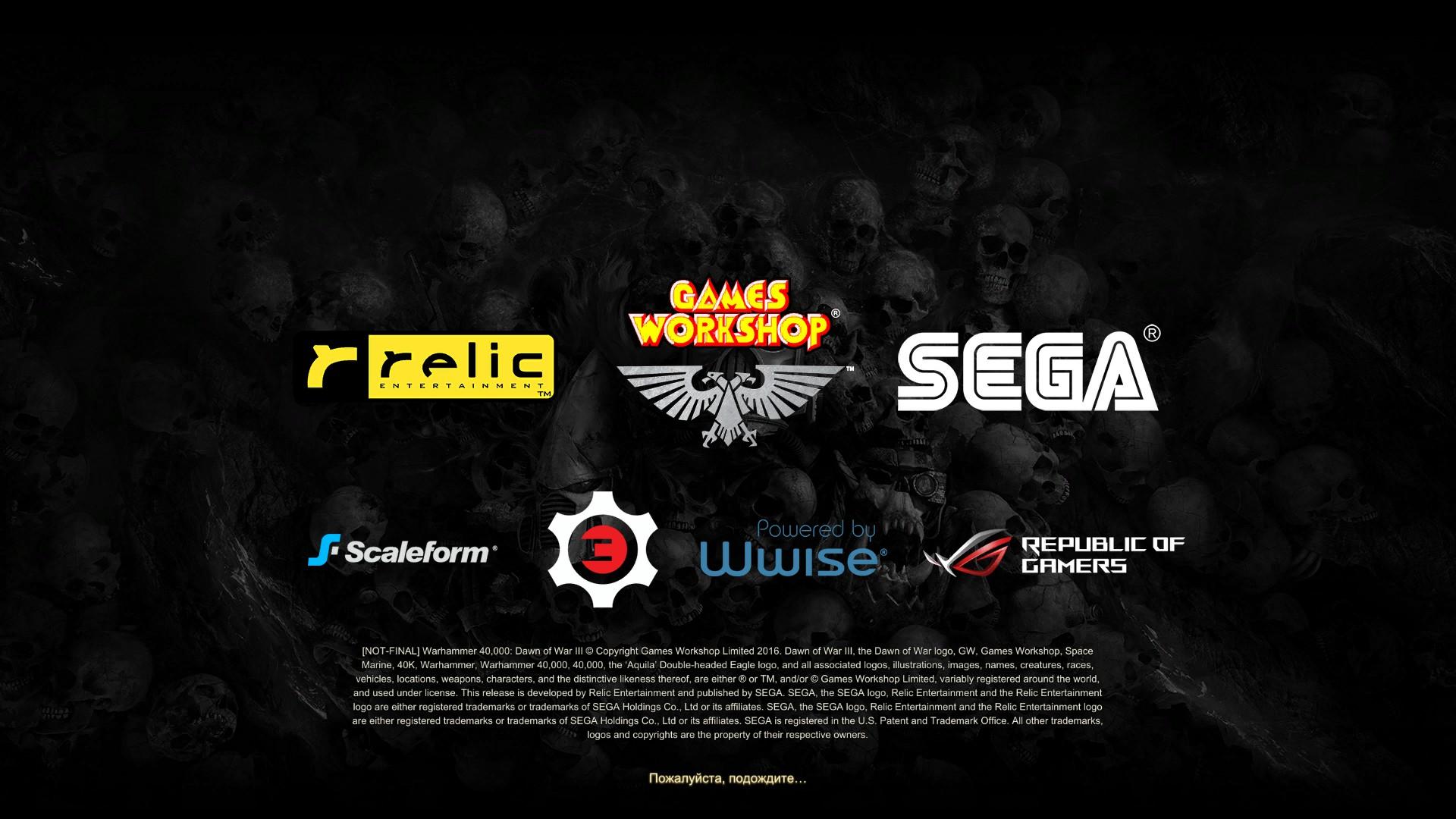 Warhammer 40 000: Dawn Of War III…