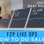LiveOps – F2P Sales Best Practices 2020