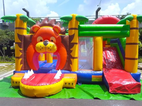 Singapore Lion Bouncy Castle