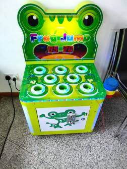 Whack a Frog arcade machine
