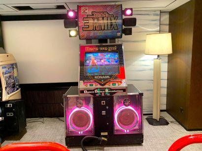 DDR dance arcade rental singapore