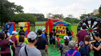 Inflatable Carnival Game Stalls