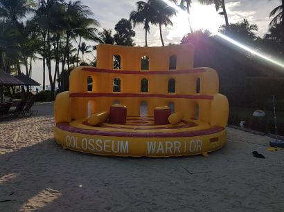 Inflatable Colosseum Warrior Rental