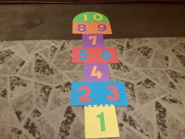 Traditional Hopscotch Game