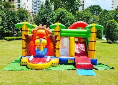 lion bouncy castle rental Singapore
