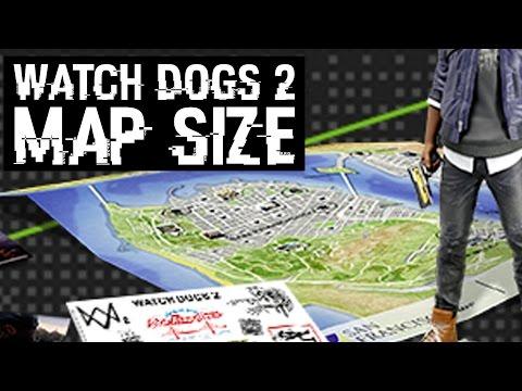 Watch Dogs 2 карта мира