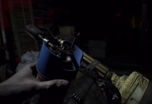 Как сделать огнемет в Resident Evil 7 Biohazard