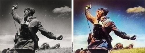 Появился сайт для создания цветных фотографий из черно-белых