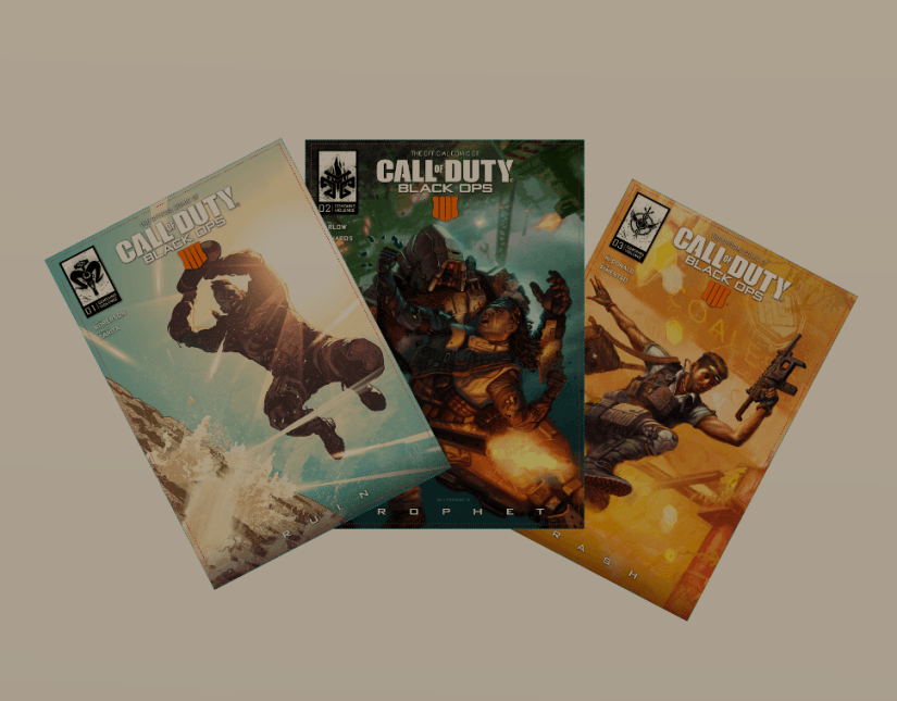Komiks Call of Duty: Black Ops 4