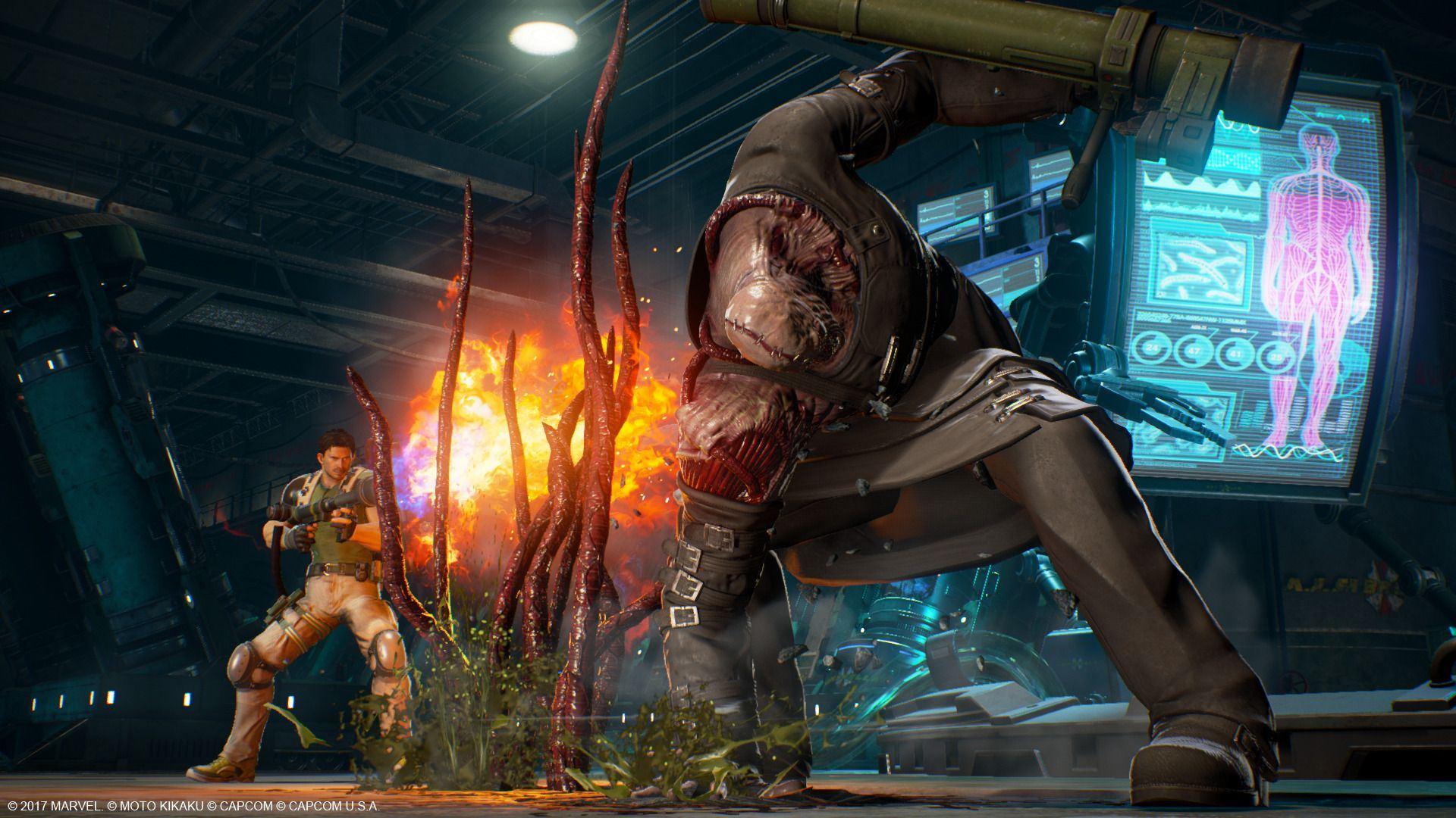 Marvel Vs Capcom Infinite New Screenshots Amp Gameplay