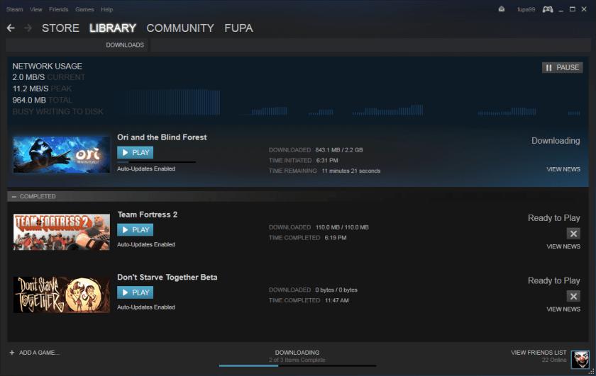 kelebihan game original Steam