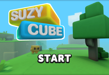 Suzy Cube Title Screen