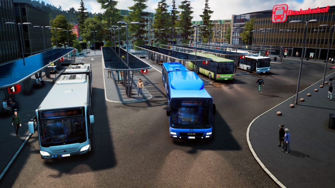 Introductory Bus Depot