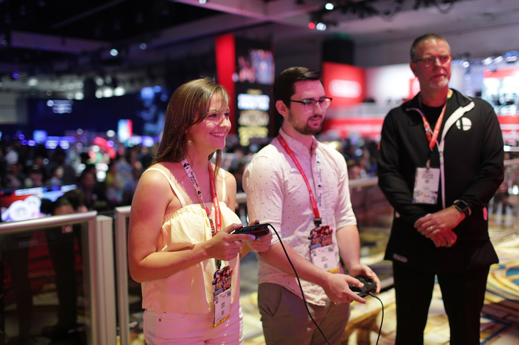 E3 hands on demo players