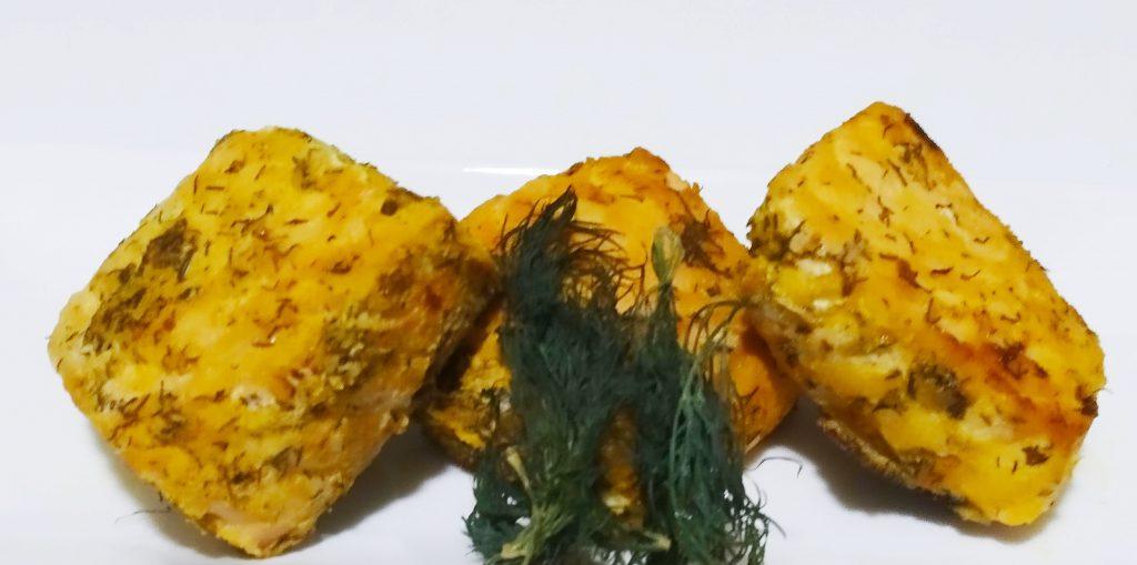 Pan fried dill weed salmon