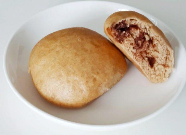 Whole wheat steamed bun