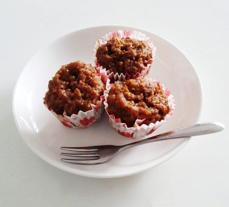 No flour pumpkin oats muffin-freezer friendly recipe