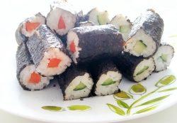 How to make Japanese Veg  Vegan Sushi at home