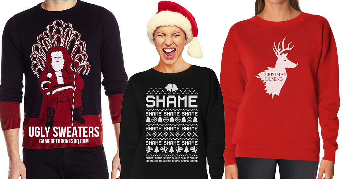 Game Of Thrones Ugly Christmas Sweaters