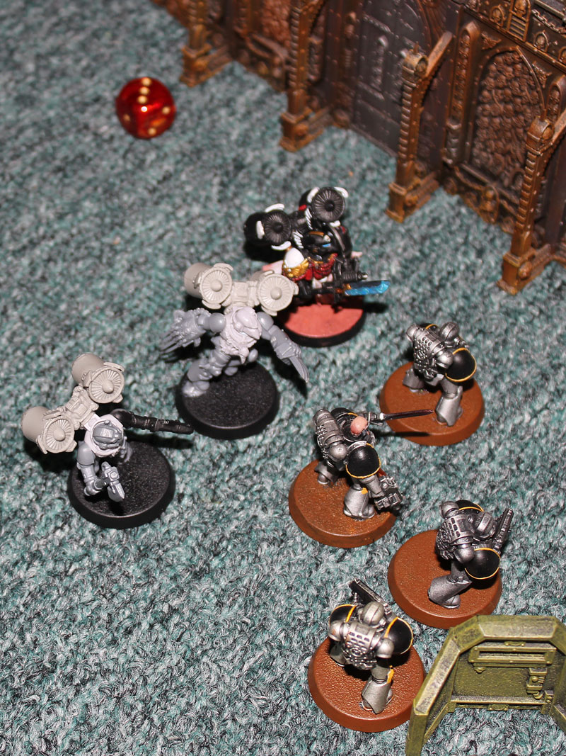 Battle Report Warhammer 40k Blood Angels Vs Raven Guard