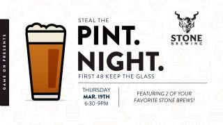 Pint Night! – Stone Brewing