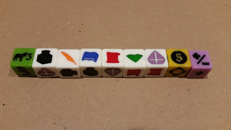 Nice dice for rolling