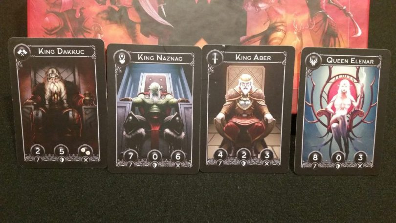 Four Monarchs preside over the carnage. Only their deaths will end the struggle.