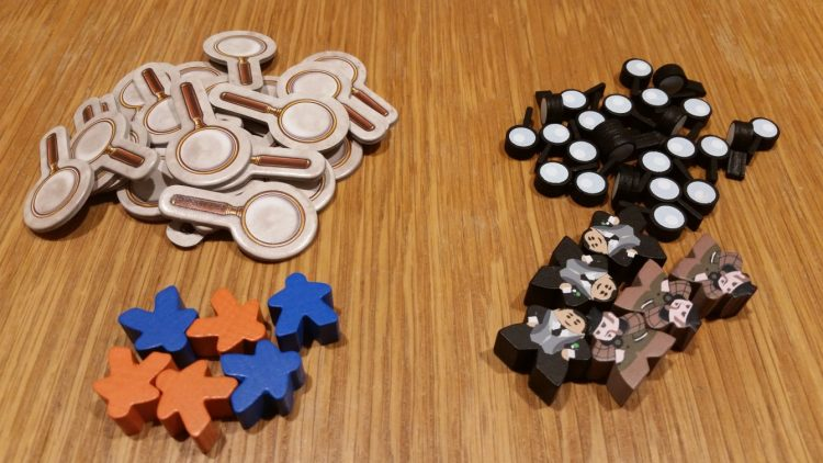 Just a heads-up: MeepleSource, in addition to distributing the game here in the US, also made a great component upgrade kit! Though the original components are completely serviceable, we really love the upgraded meeples and tokens!