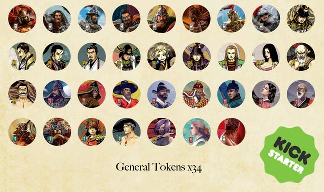 That's a lot of generals, and each one is completely unique.