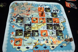 dragoon board map
