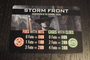 dresden files board game card