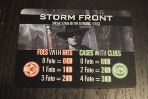 dresden files board game card