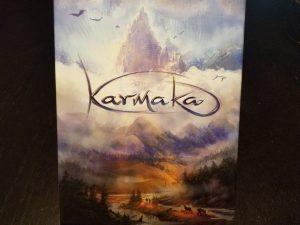 Karmaka board game box