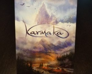 Karmaka board game box